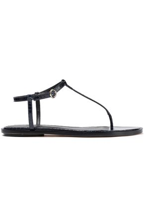TIBI Courtney elaphe sandals