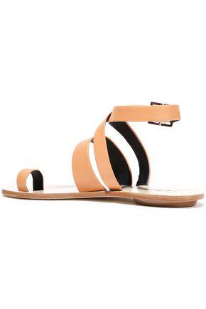 TIBI Hallie leather sandals