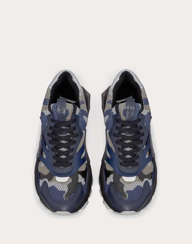 SNEAKER BOUNCE CAMOUFLAGE LAMINATA