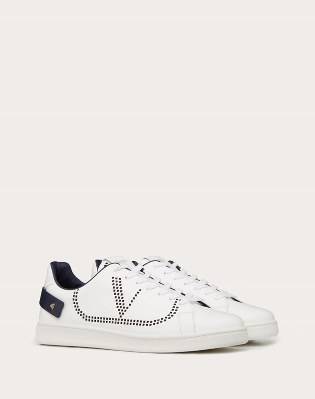 Leather BACKNET sneaker