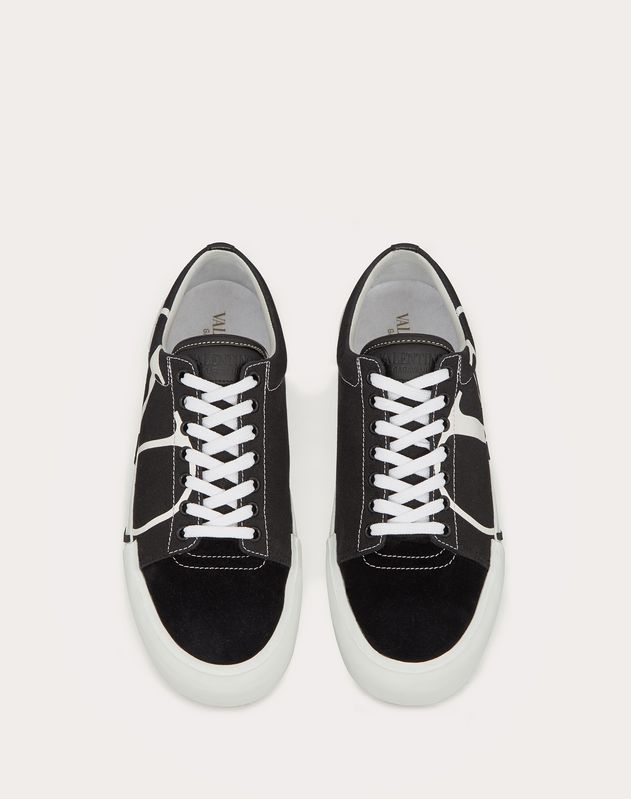 TRICKS CANVAS AND SUEDE SNEAKER