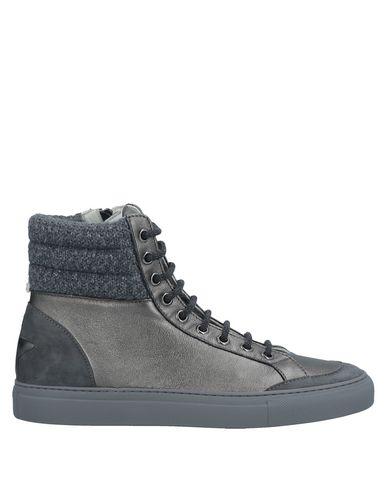 Фото - Высокие кеды и кроссовки от LORENA ANTONIAZZI свинцово-серого цвета