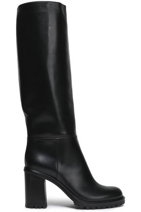 CASADEI Leather knee boots