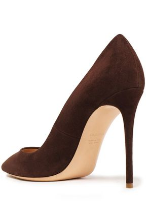 CASADEI Suede pumps