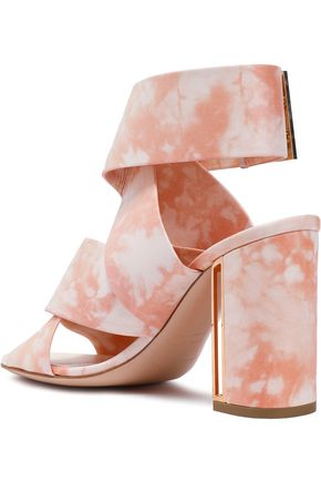 NICHOLAS KIRKWOOD Tie-dyed leather sandals