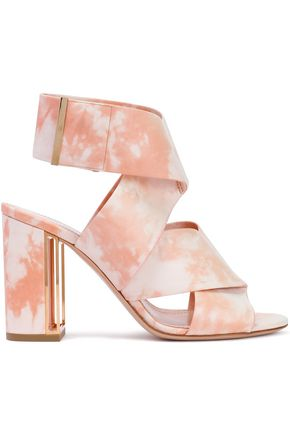 NICHOLAS KIRKWOOD Tie-dyed leather sandals