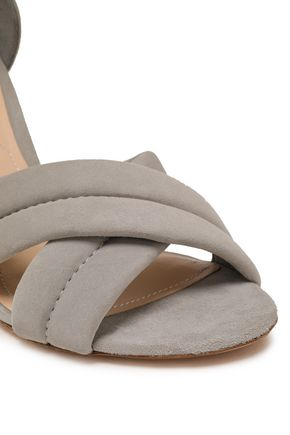 NICHOLAS KIRKWOOD Knotted suede sandals