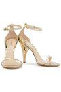 NICHOLAS KIRKWOOD Embellished mirrored leather sandals
