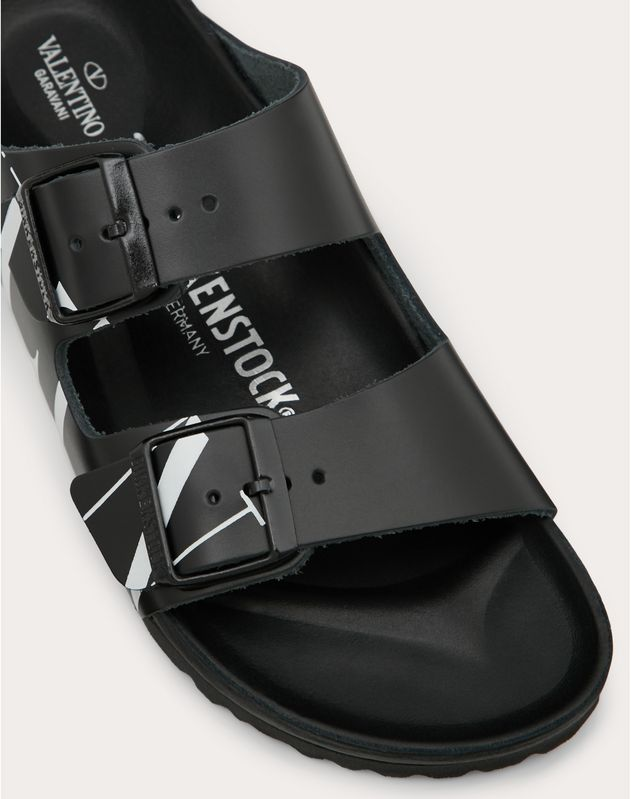 VLTN slide sandal in collaboration with Birkenstock