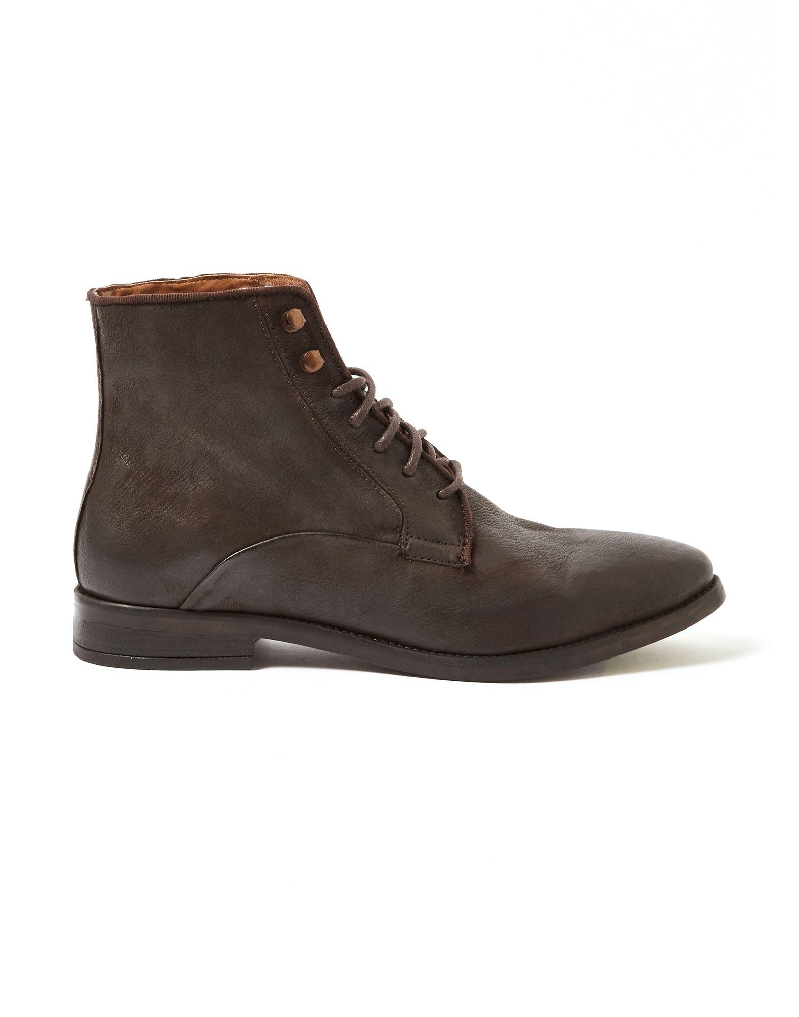 Topman Boots In Dark Brown | ModeSens
