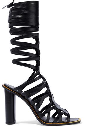 ALTUZARRA Cutout leather sandals