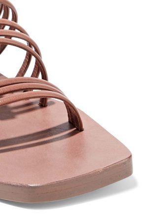 RICK OWENS Mignon Adler leather slides