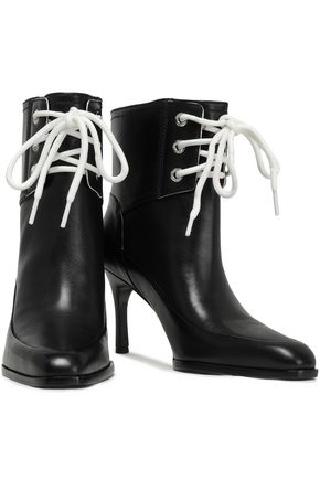 3.1 PHILLIP LIM Lace-up leather ankle boots