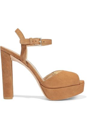 31f1cccbdd7b STUART WEITZMAN Suede platform sandals