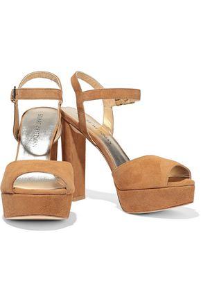 dcdfe0205e9 STUART WEITZMAN Suede platform sandals