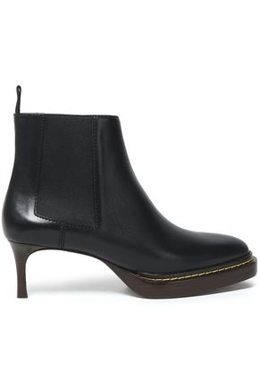 3.1 PHILLIP LIM Florence leather platform ankle boots