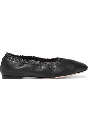 STUART WEITZMAN Leather ballet flats