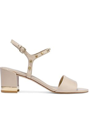 STUART WEITZMAN Studded leather sandals