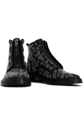 RAG & BONE Beaded leather ankle boots