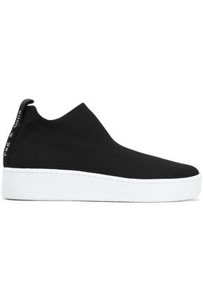 RAG & BONE Stretch-knit slip-on sneakers