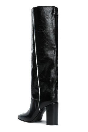 RAG & BONE Crinkled-leather boots