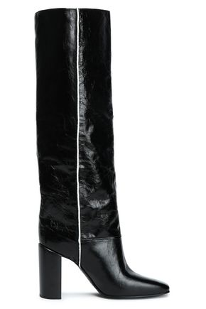81ece177310 RAG   BONE Crinkled-leather boots