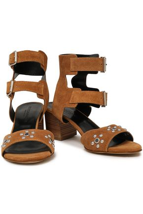 REBECCA MINKOFF Sofia studded leather sandals