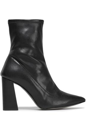 REBECCA MINKOFF Leather sock boots