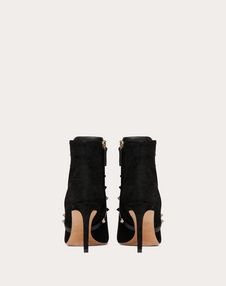 Rockstud Suede Ankle Boot 85 mm