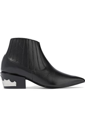TOGA PULLA Convertible leather ankle boots