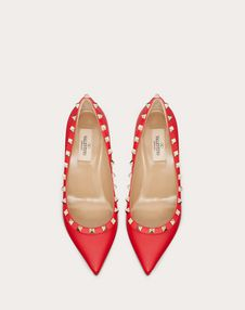 Rockstud Grainy Leather Pump 85 mm
