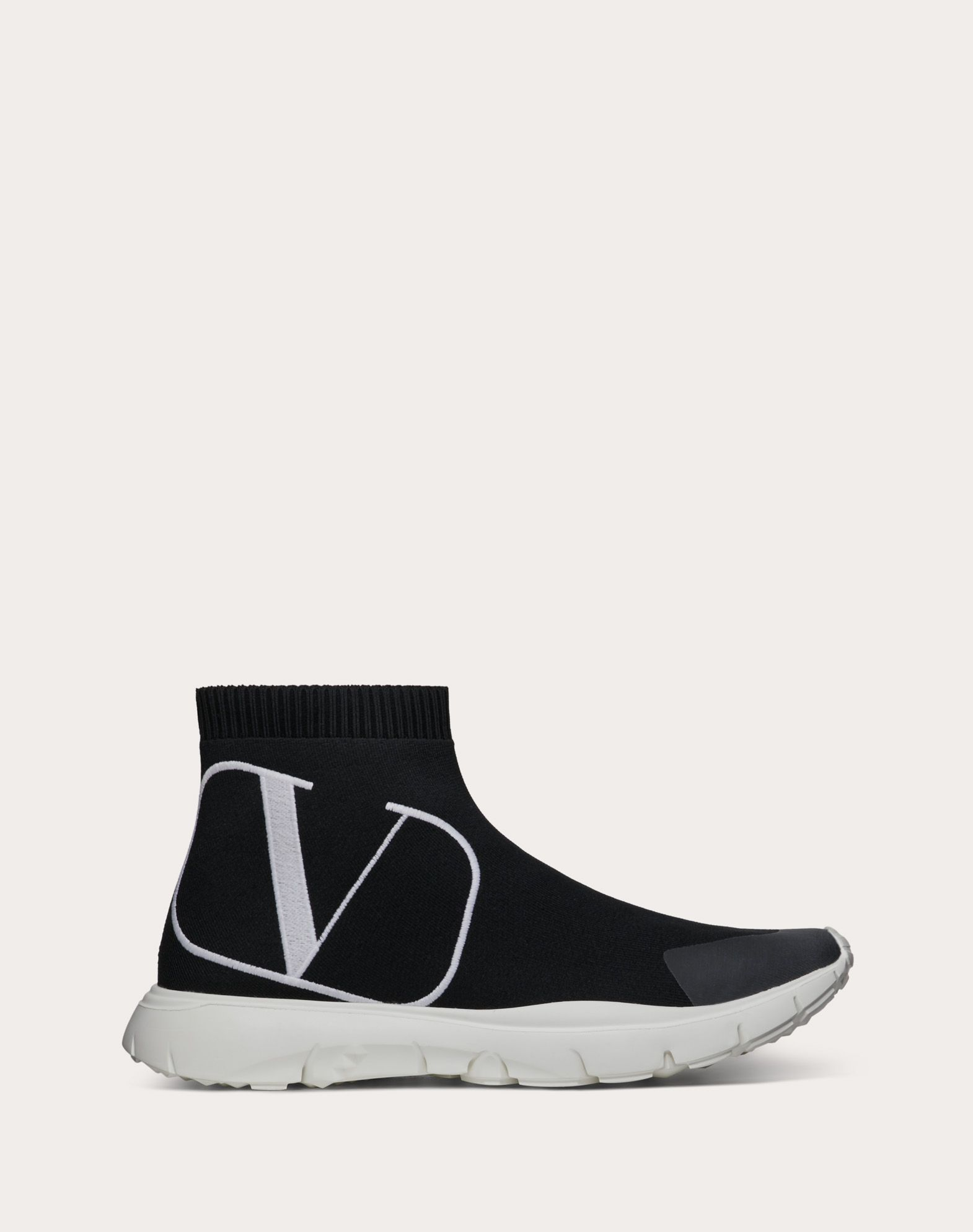 Sneakers façon chaussettes VLOGO