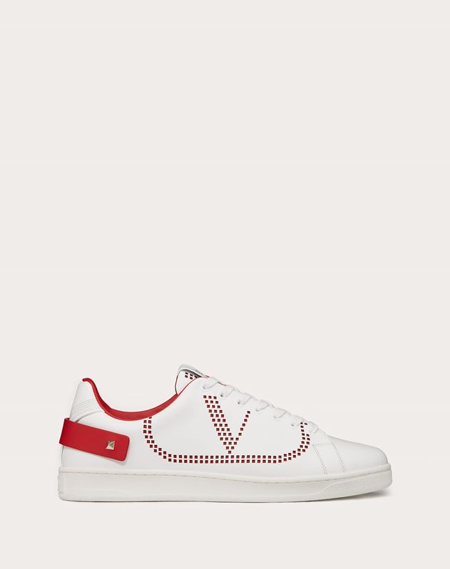 Sneaker BACKNET in vitello