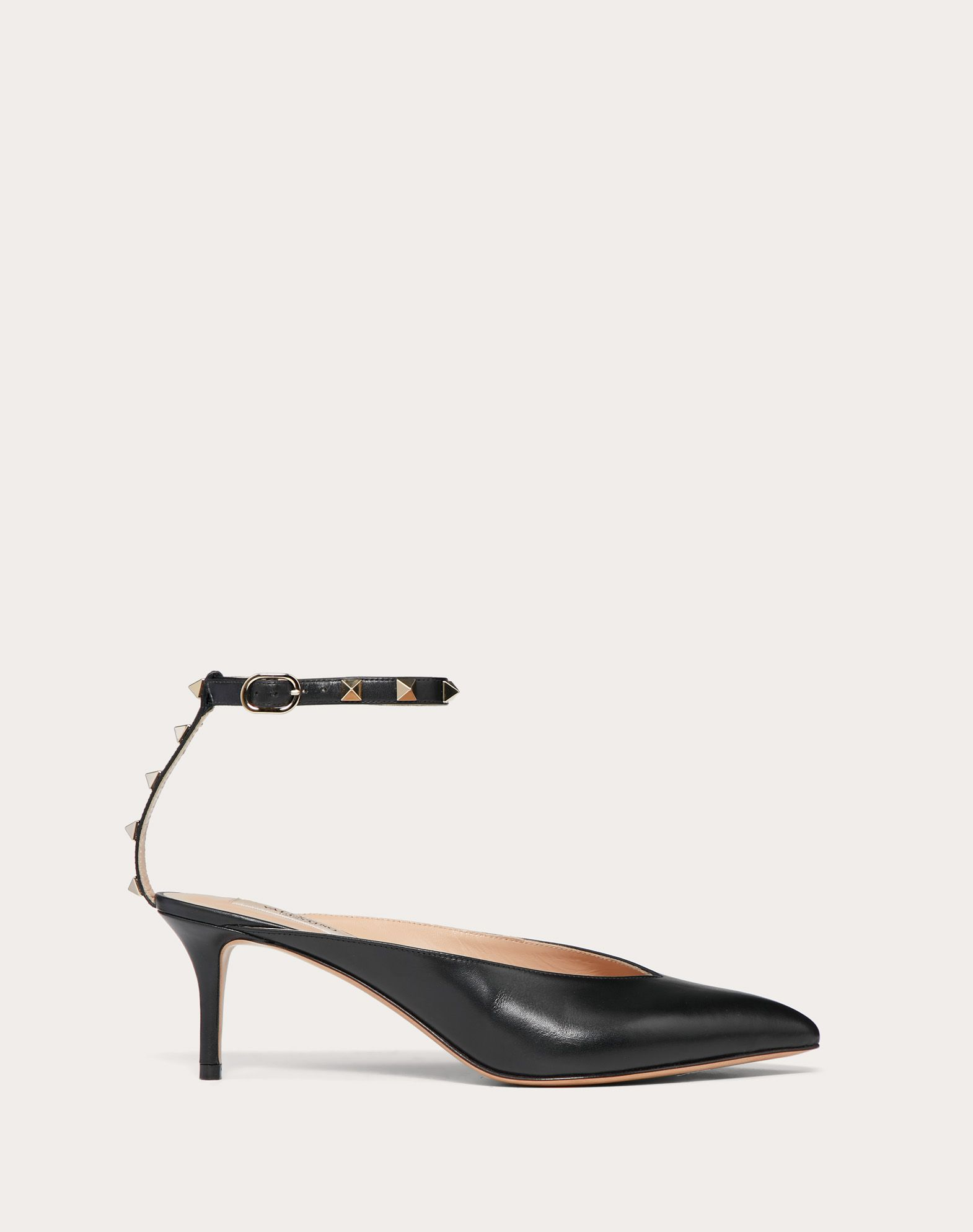 Escarpins Rockstud Hype en veau. Talon : 60 mm