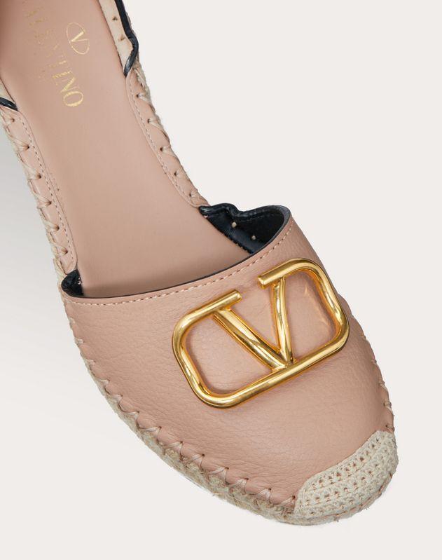 VLOGO Cowhide Sandal 85 mm