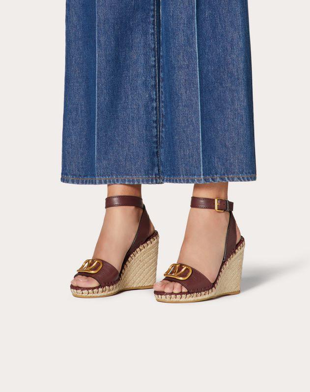 VLOGO Cowhide Sandal 105 mm