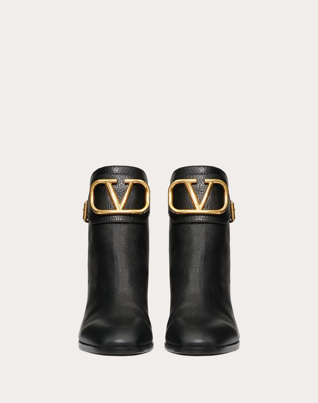 VLOGO Grainy Leather Ankle Boot 60 mm
