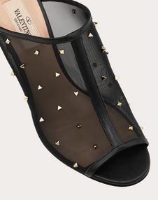 Mule in mesh and studs 90 mm