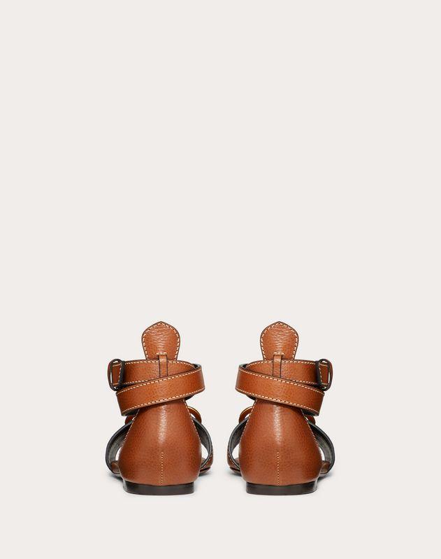 VLOGO Cowhide Sandal