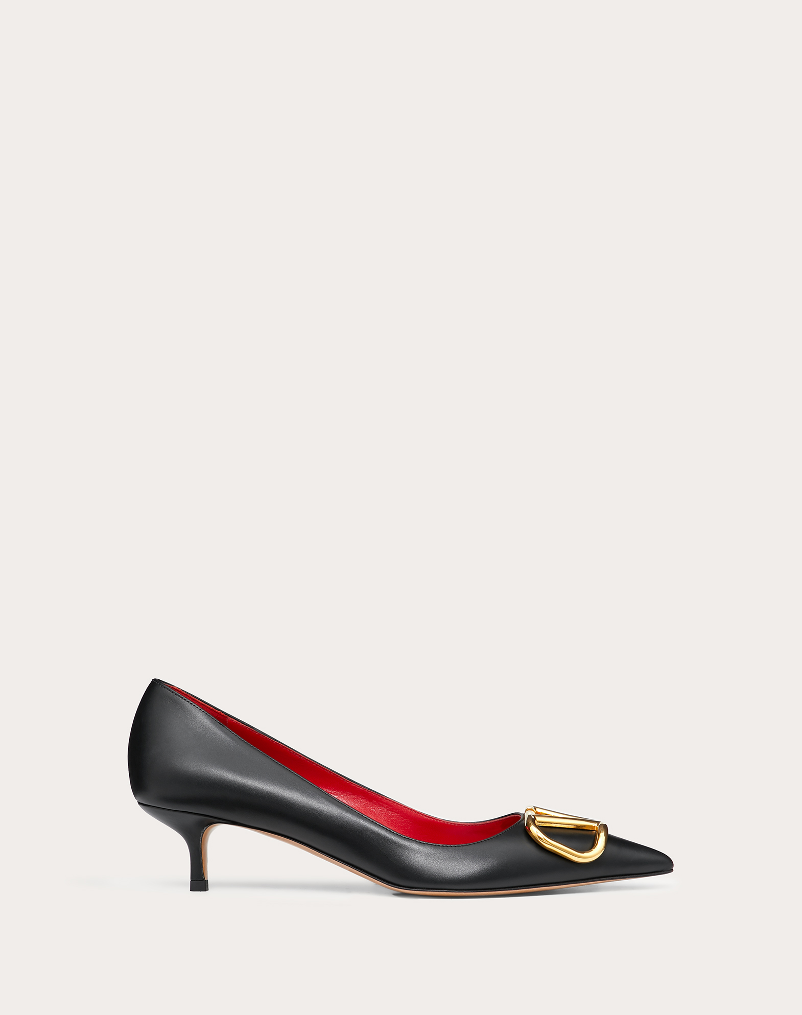 VLOGO calfskin pump 45 mm