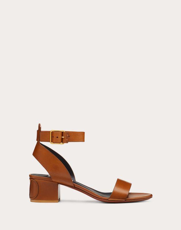 VLOGO Cowhide Sandal 45 mm