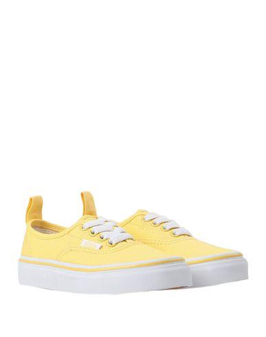 Фото 2 - Низкие кеды и кроссовки желтого цвета