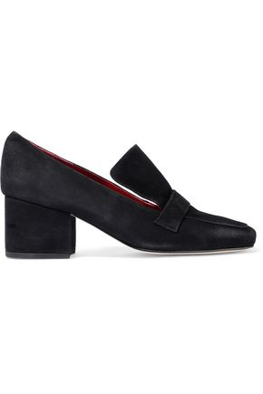 DORATEYMUR Turbojet suede loafers