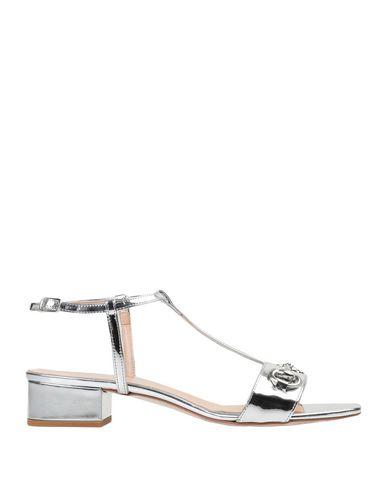 Фото - Женские сандали BIANCA DI серебристого цвета