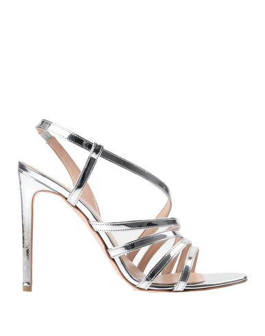 Купить Женские сандали BIANCA DI серебристого цвета