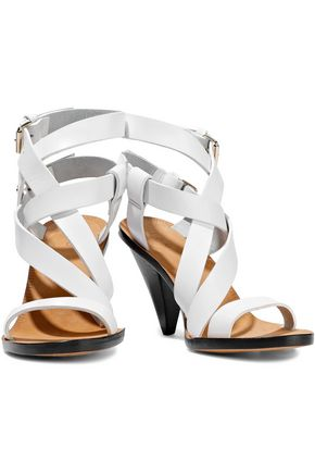 IRO Riara buckled leather sandals