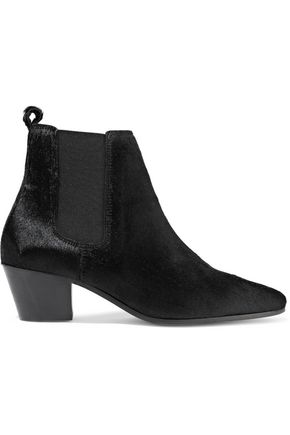 IRO Yvany calf hair ankle boots