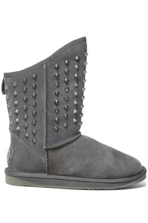 AUSTRALIA LUXE COLLECTIVE Studded shearling boots