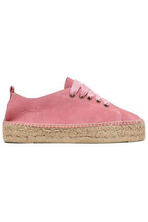 MANEBÍ Hamptons suede espadrille sneakers