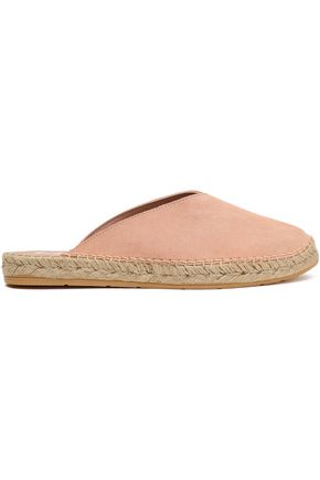 MANEBÍ Hamptons suede espadrille slippers